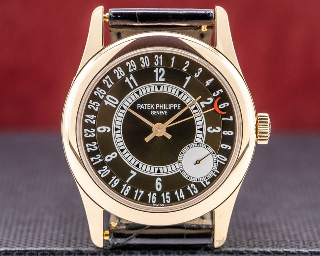 Patek Philippe 6000R-001 6000R Brown Dial Rose Gold / Deployant