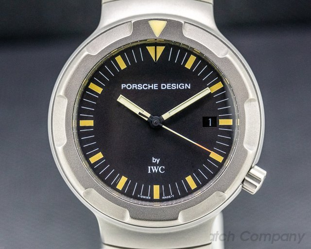 IWC 3504 Porsche Design Ocean 2000 FULL SET ORIGINAL OWNER