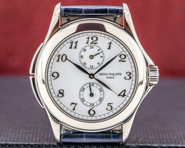 Patek Philippe 5134G-001 Travel Time 5134G 18K White Gold / Breguet Numerals
