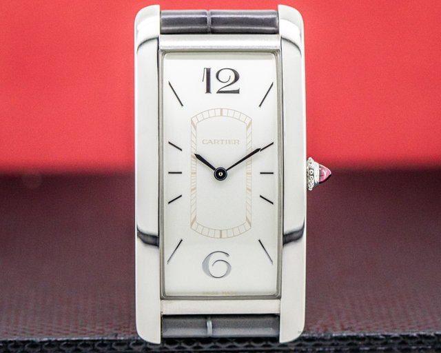 Cartier WGTA0027 Tank Cintree WGTA0027 Platinum Limited