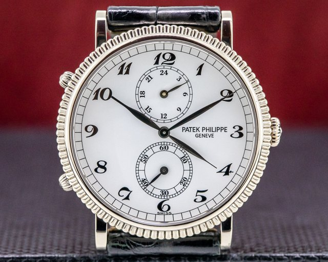 Patek Philippe 5034G-001 Travel Time 5034G 18K White Gold
