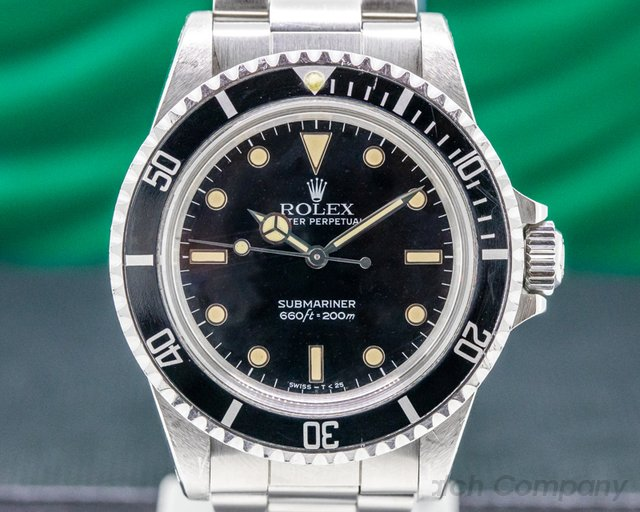 Rolex 5513 Vintage Gloss Dial Submariner 5513 MKIII