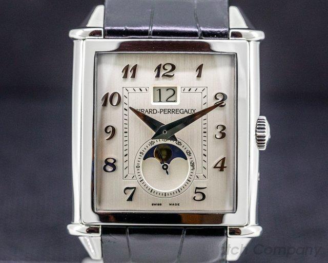 Girard Perregaux 25882-11-121-BB6B Vintage 1945 XXL Grande Date Phase De Lune SS