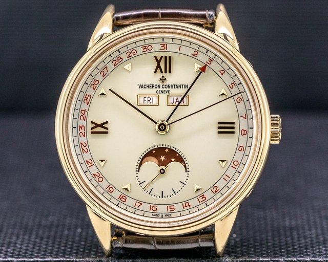 Vacheron Constantin 3110V/000R-B359 Les Historiques 1942 Triple Calendar 18k Rose Gold LIMITED