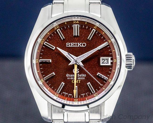 "Grand Seiko SBGJ021 Grand Seiko Hi-Beat 36000 GMT ""Dawn of Mt. Iwate"" LIMITED"