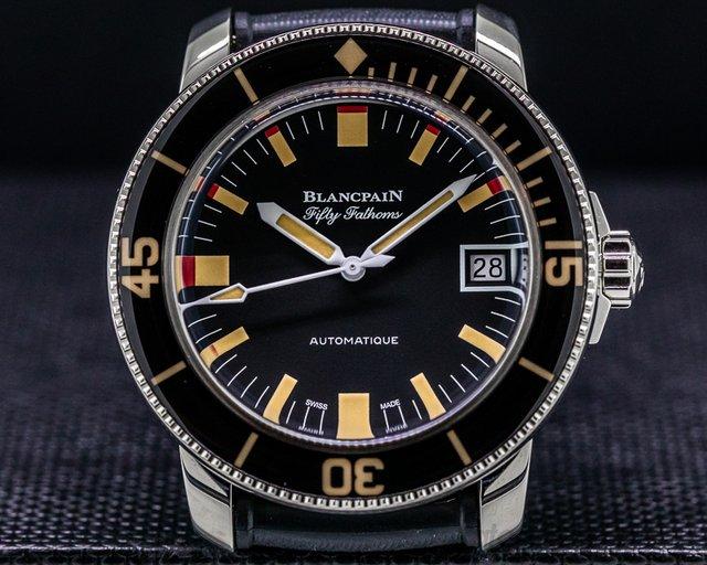 Blancpain 5008B-1130-B52A Fifty Fathoms Barakuda SS LIMITED 40MM UNWORN