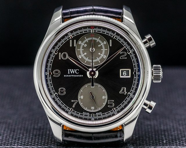 IWC IW390404 Portuguese Chronograph Classic SS / Grey Dial