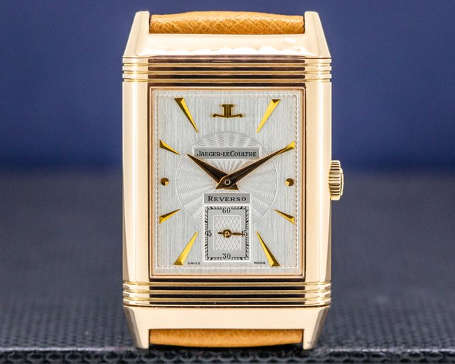 Jaeger LeCoultre 270.2.62 Reverso Art Deco 18K Rose Gold / Deployant Buckle FULL SET