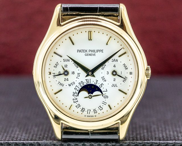 Patek Philippe 3940J Perpetual Calendar 18K Yellow Gold EARLY MODEL FULL SET