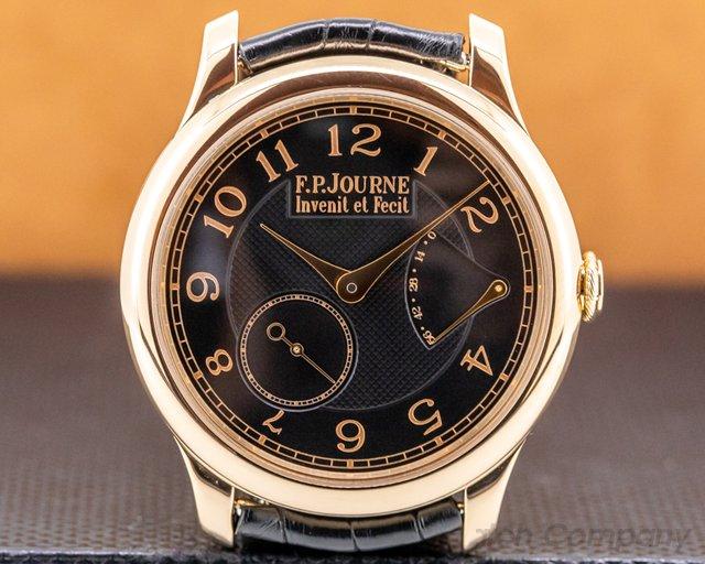 F. P. Journe Chronometre Souverain Chronometre Souverain 18k Rose Gold Black Dial BOUTIQUE