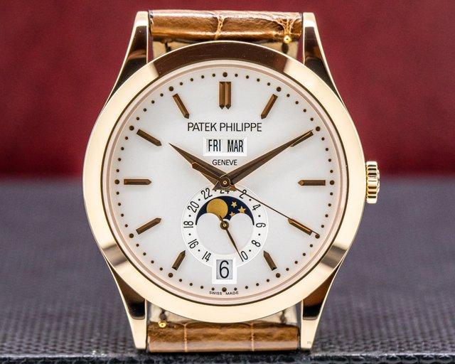 Patek Philippe 5396R-011 Annual Calendar Rose Gold / Silver Dial