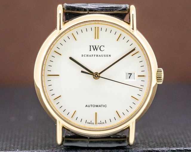 IWC 3533 Portofino Automatic 18K Yellow Gold