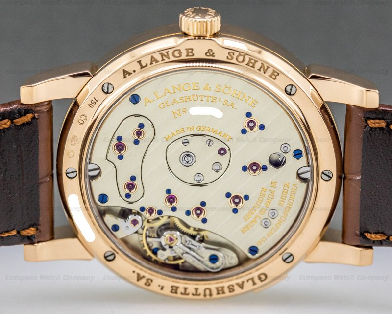 A. Lange and Sohne 109.032 Lange 1 Moon 18K Rose Gold
