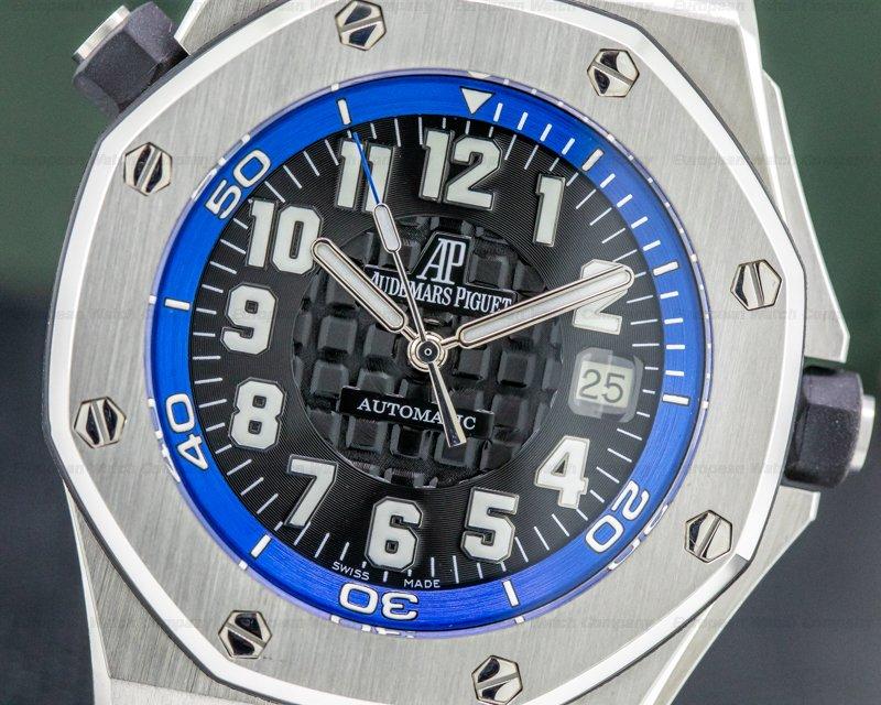 Audemars Piguet 15701ST.OO.D002CA.02 Royal Oak Offshore SCUBA Boutique Blue