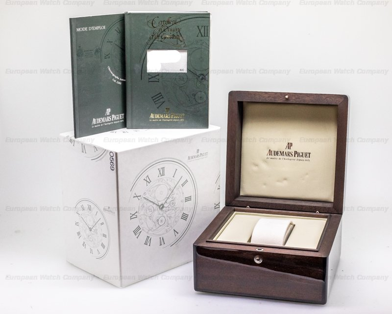 Audemars Piguet 25925BC.OO.D001CR.01 Edward Piguet Chronograph 18K White Gold