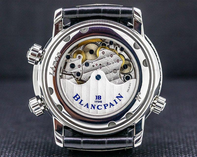 Blancpain 2041-1127M-53b Leman Reveil GMT SS White Dial