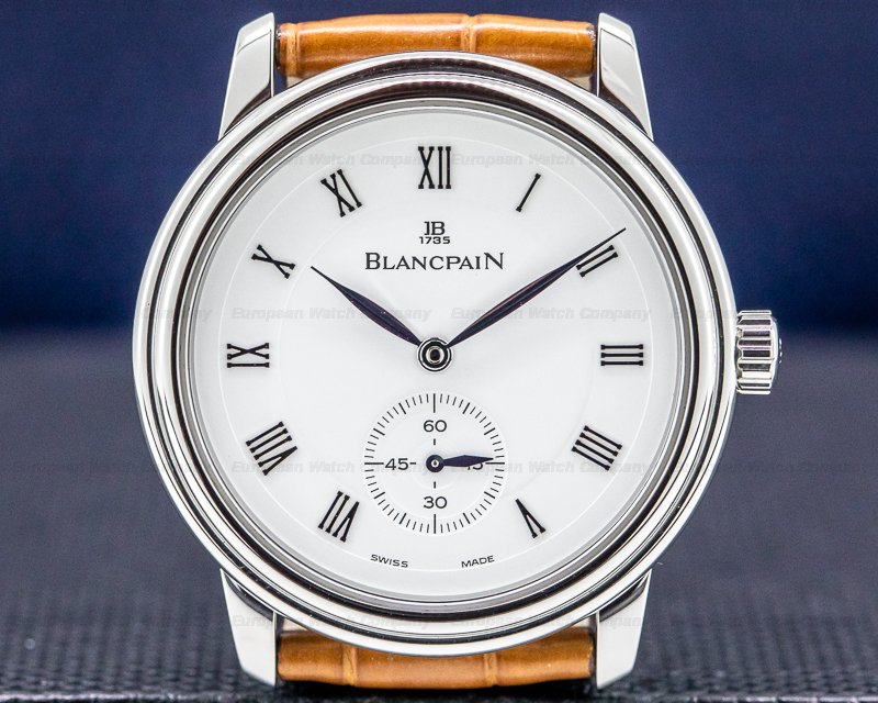 Blancpain 7002-1127-61 Extra Slim White Dial Manual Wind SS