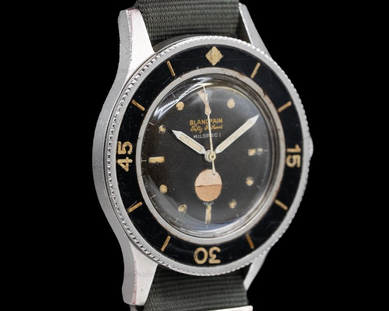 "Blancpain Milspec 1 Fifty Fathoms Milspec 1 Radium ""DIVE MASTER PROVENANCE"""