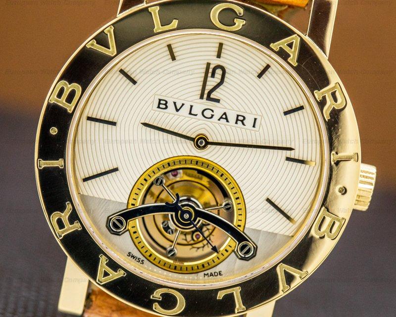 Bvlgari BB38GLTB Bulgari Bulgari Tourbillon 18k Yellow Gold