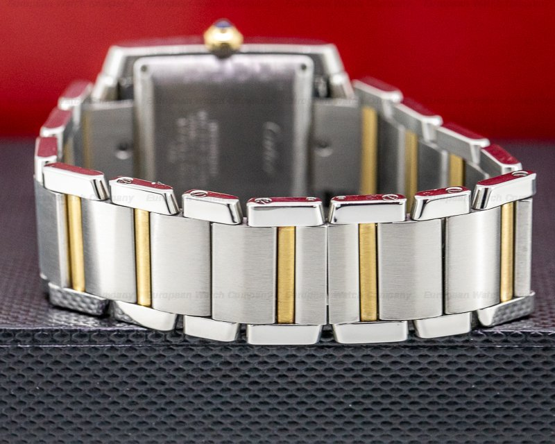 Cartier W51005Q4 Tank Francaise Large Automatic 18K / SS