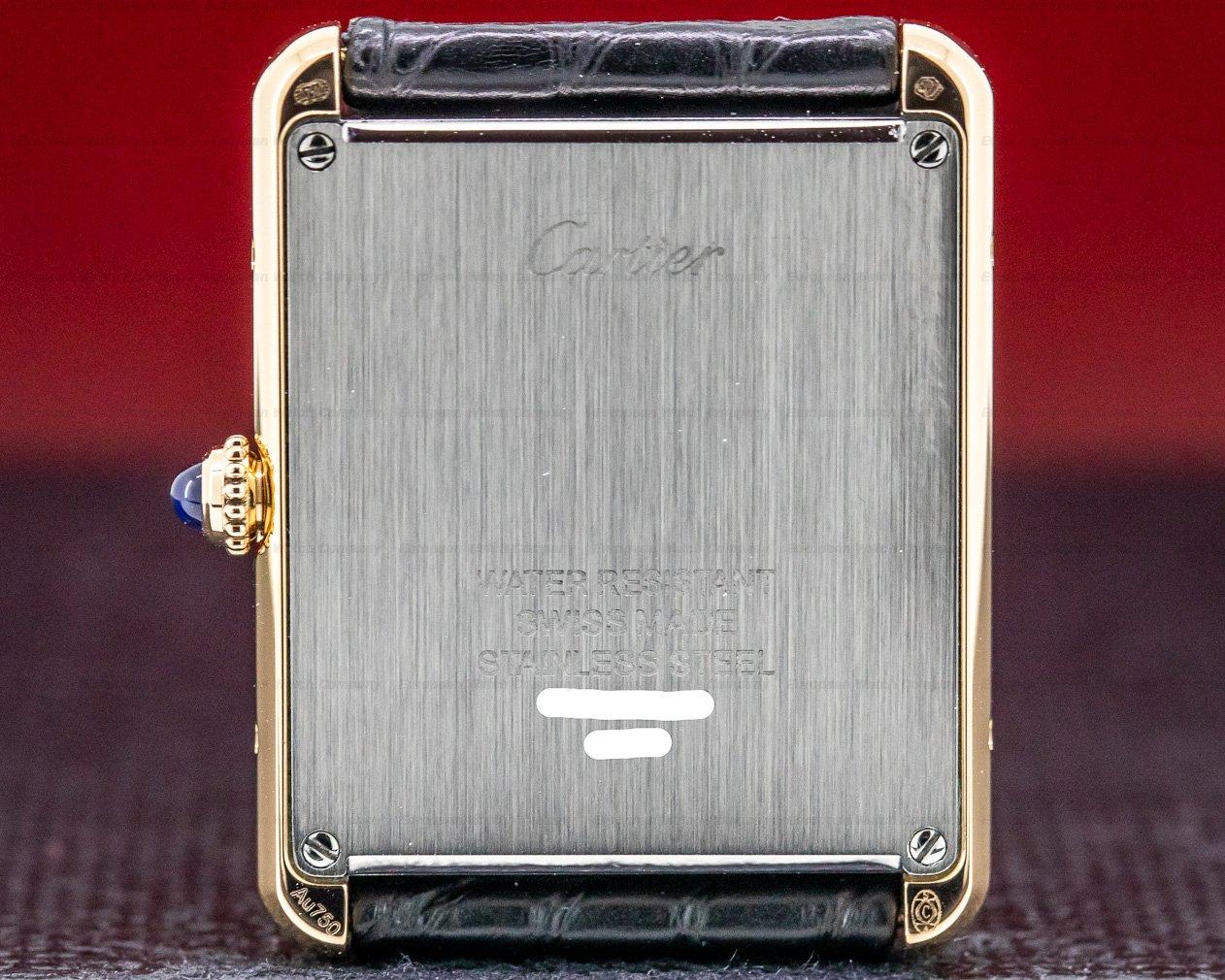 Cartier W5200025 Tank Solo Large 18K Rose Gold/ SS Quartz