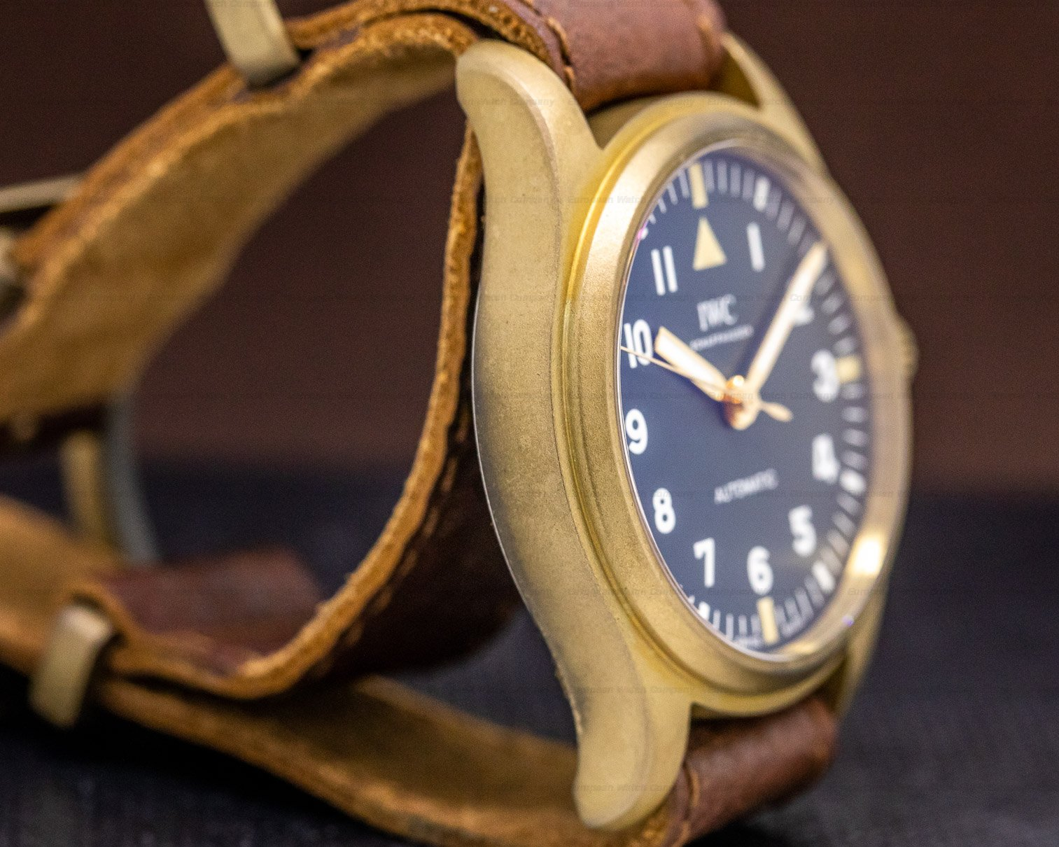 IWC IW324019 Pilot 36mm Special Edition for the Rake and Revolution Bronze