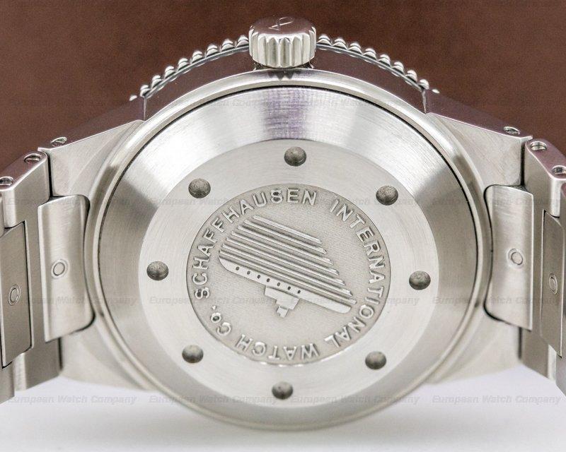 IWC IW353603 Aquatimer GST 2000 Silver Dial SS RARE