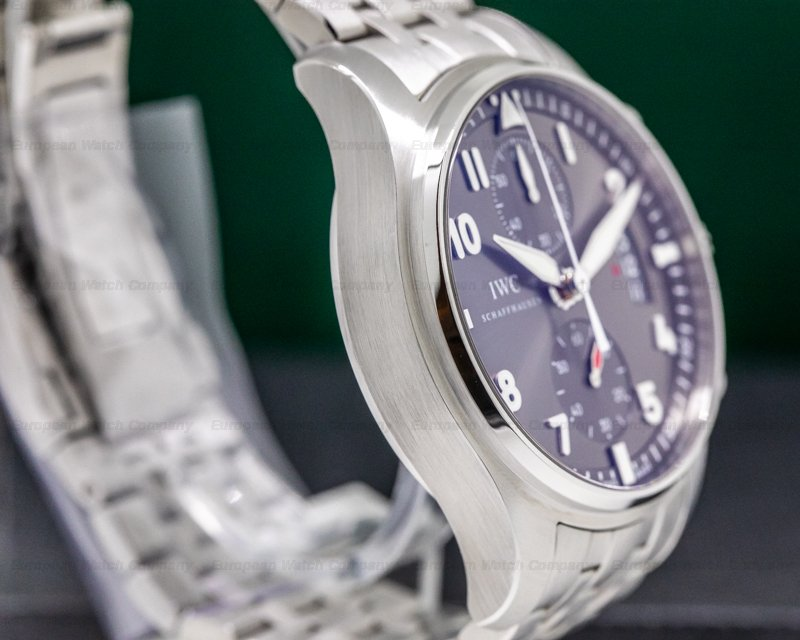 IWC IW387804 Pilot Spitfire Chronograph SS Grey Dial