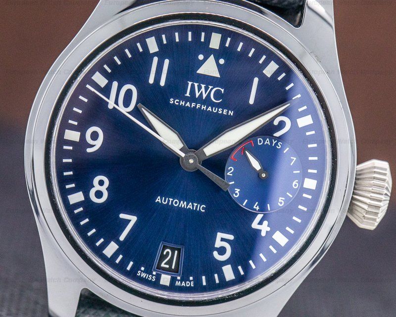 "IWC IW502003 Big Pilot Stainless 7 Day ""Rodeo Drive"" Ceramic Limited Edition"