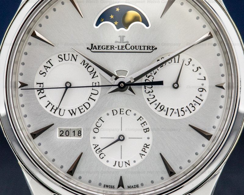 Jaeger LeCoultre Q130842J Master Ultra Thin Perpetual Calendar SS UNWORN
