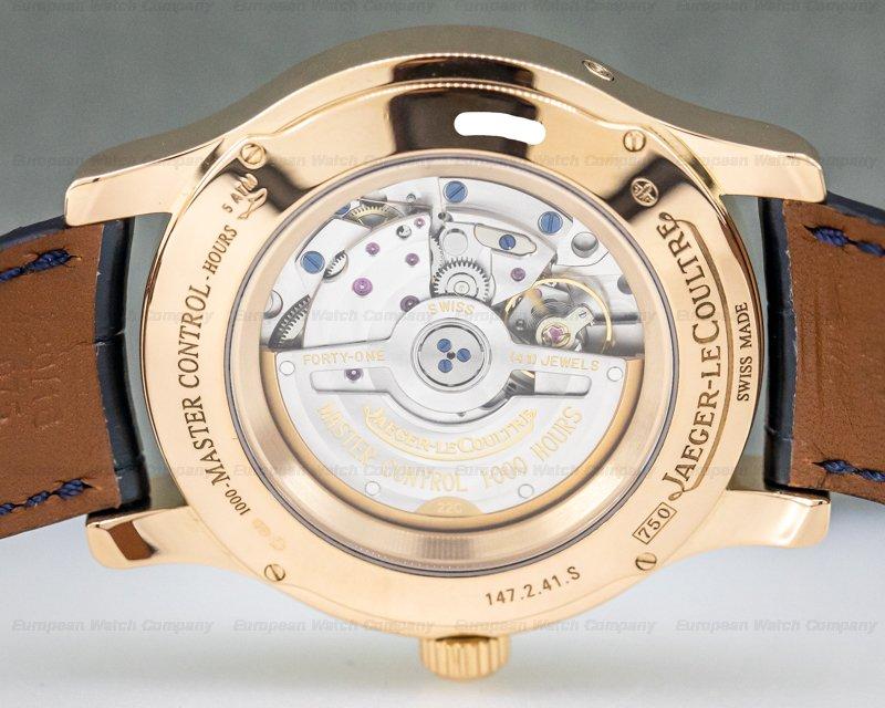 Jaeger LeCoultre Q151242A Master Calendar 18k Rose Gold