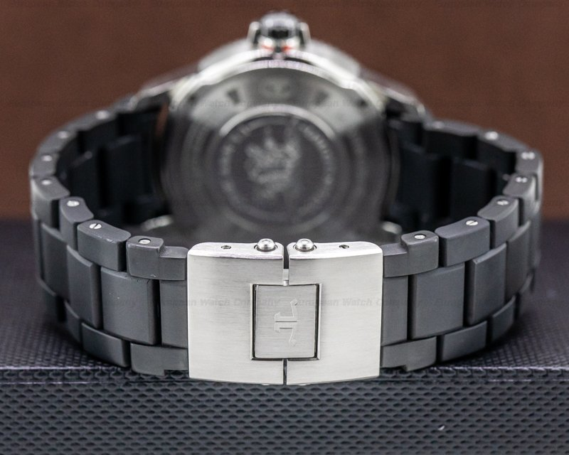 Jaeger LeCoultre Q2018770 Master Compressor Diving NAVY SEALS rubberized steel bracelet 42MM
