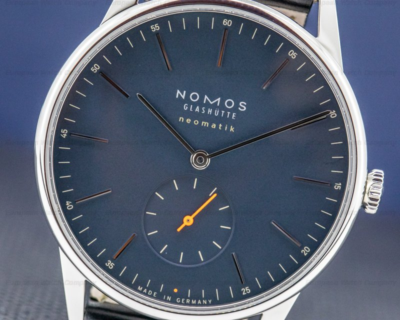 Nomos 343 Orion SS Neomatik Midnight Blue 39MM