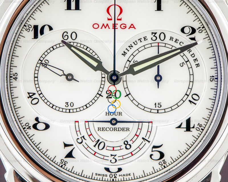 Omega 422.13.41.50.04.001 Olympic Timeless Collection Chronograph
