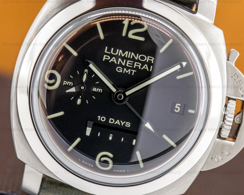 Panerai PAM00270 Luminor 1950 10 Days GMT SS