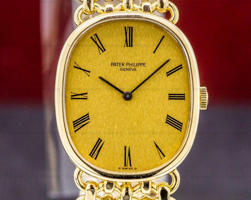 Patek Philippe 3848/1 Golden Ellipse 18K Yellow Gold Bracelet