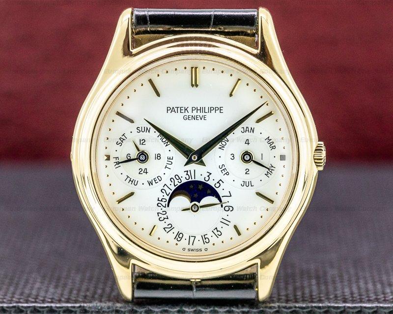 Patek Philippe 3940J Perpetual Calendar 18K Yellow Gold EARLY MODEL FULL SET