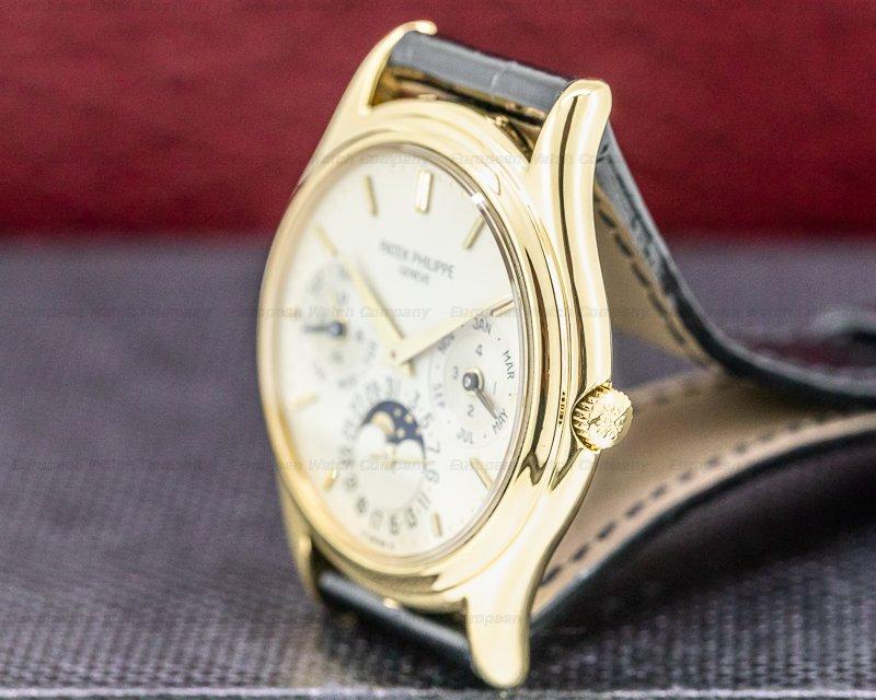 Patek Philippe 3940J Perpetual Calendar 3940J 18K Yellow Gold EARLY MODEL FULL SET