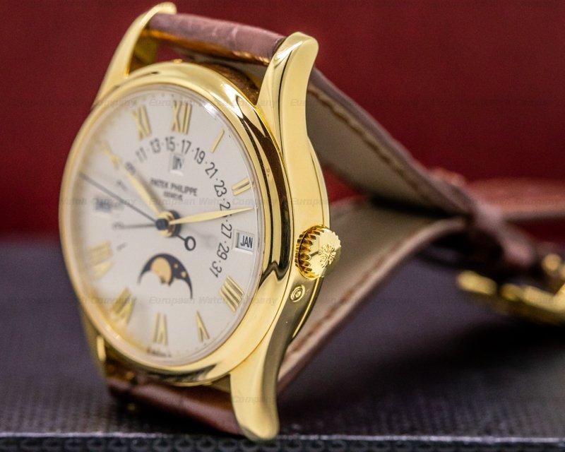 Patek Philippe 5050J Retrograde Perpetual Calendar 18K Yellow Gold FULL SET