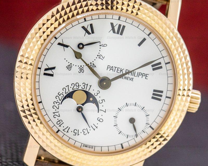Patek Philippe 5057R Cortina 5057 Jubilee 18K Rose Gold Hobnail Bezel LIMITED