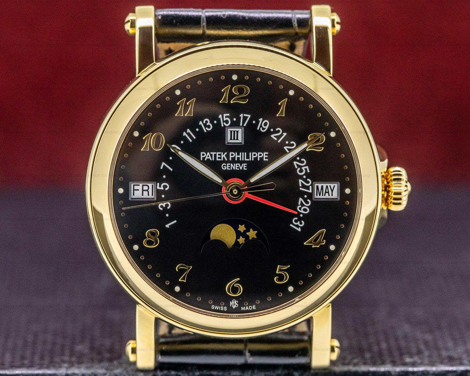 "Patek Philippe 5059J-018 Retrograde Perpetual Black Dial 18K ""Michael Ovitz"" UNIQUE PIECE"