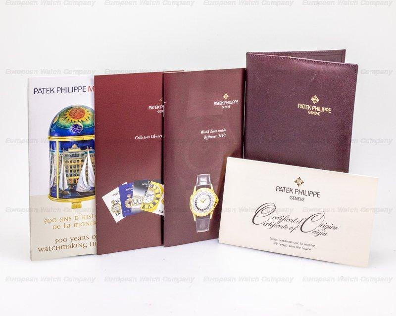 Patek Philippe 5110R-001 World Time 5110R 18K Rose Gold