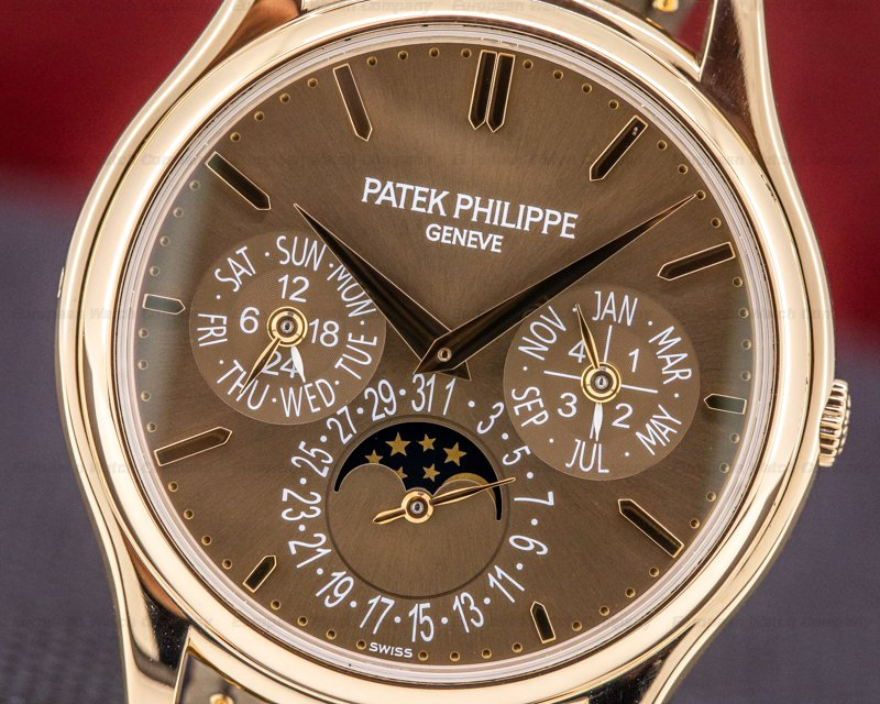 Patek Philippe 5140R-001 Perpetual Calendar 5140 Brown Dial 18K Rose Gold