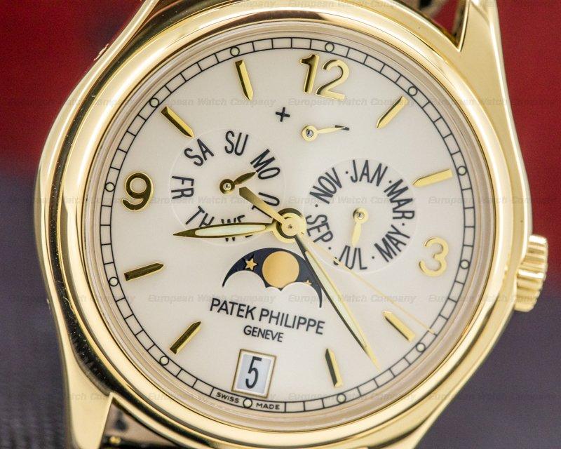 Patek Philippe 5146J-001 Annual Calendar 5146 Cream Dial 18K Yellow Gold