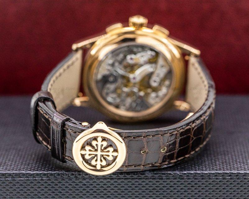 Patek Philippe 5170R-001 Chronograph 5170 18K Rose Gold Silver Dial