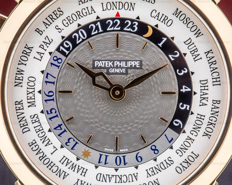 Patek Philippe 5230R-001 World Time 5230R 18k Rose Gold