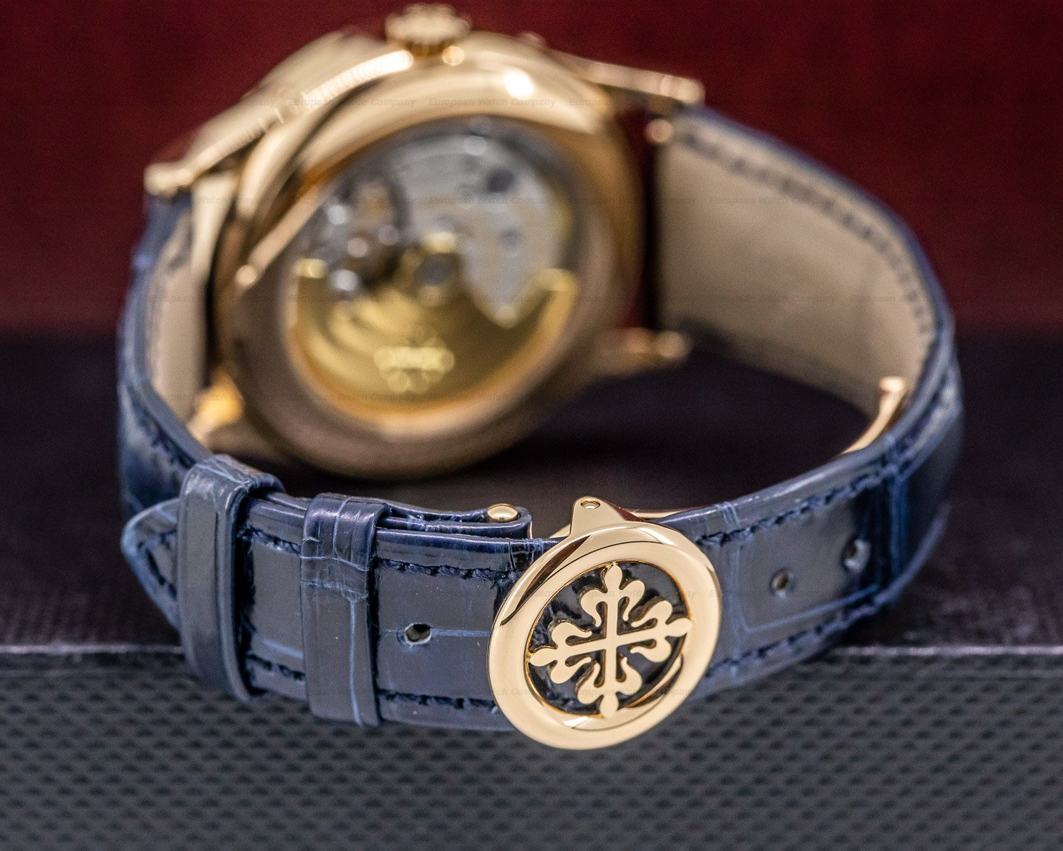 Patek Philippe 5396R-014 Annual Calendar Rose Gold Blue Dial