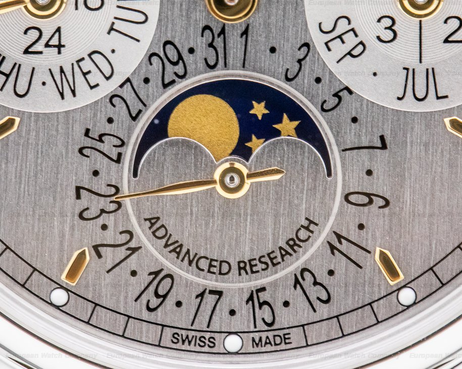 Patek Philippe 5550P-001 Advanced Research Perpetual Calendar COMPLETE & UNWORN
