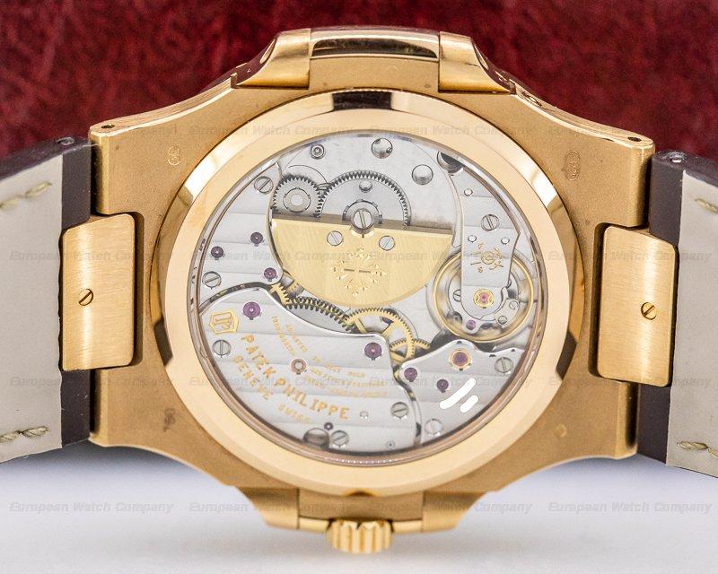 Patek Philippe 5712R-001 Jumbo Nautilus Power Reserve Moon 18K Rose Gold FULL SET