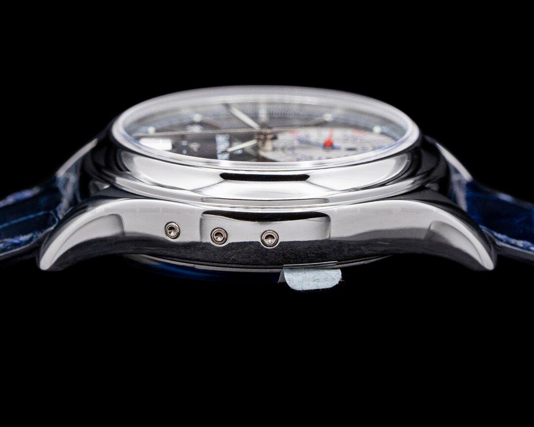 Patek Philippe 5960P Annual Calendar Chronograph Platinum Grey Dial
